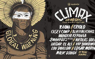 HISA at CLIMAX festival 2019 !